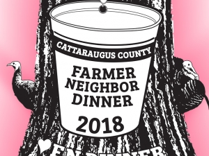 2018 Farmer-Neighbor Dinner banner