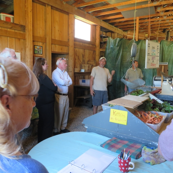 Tour of Canticle Farm in Allegany, NY